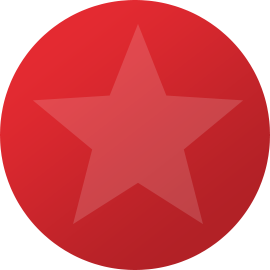 red ball with star